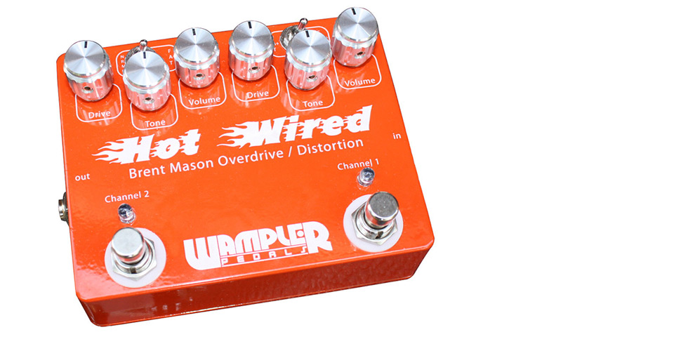 Wampler Brent Mason Hot Wired