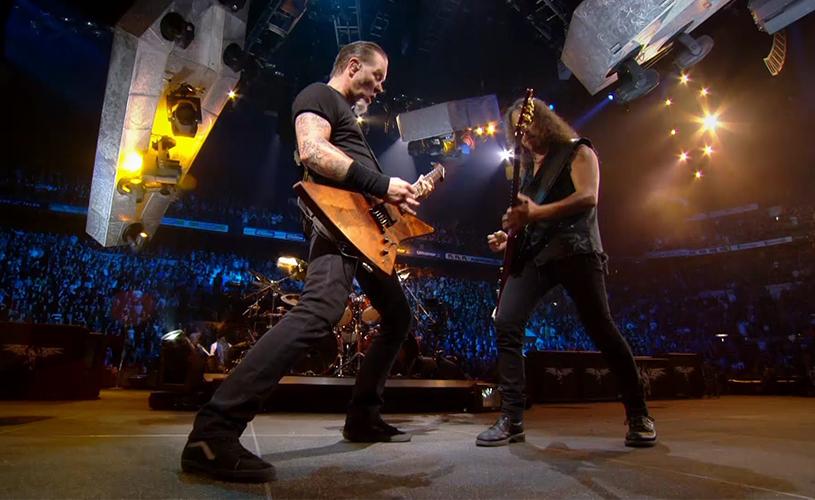 Médicos aconselham James Hetfield a parar de cantar