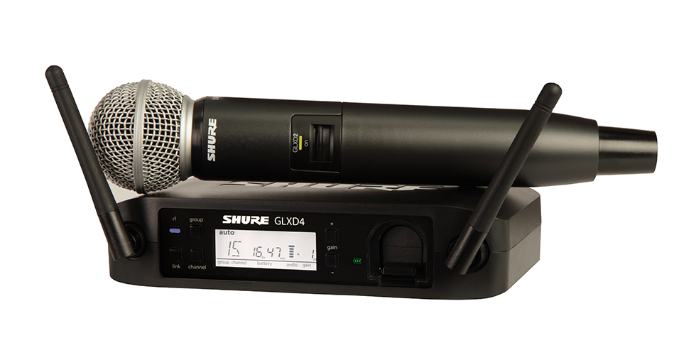 Shure com novas séries de microfones sem fios