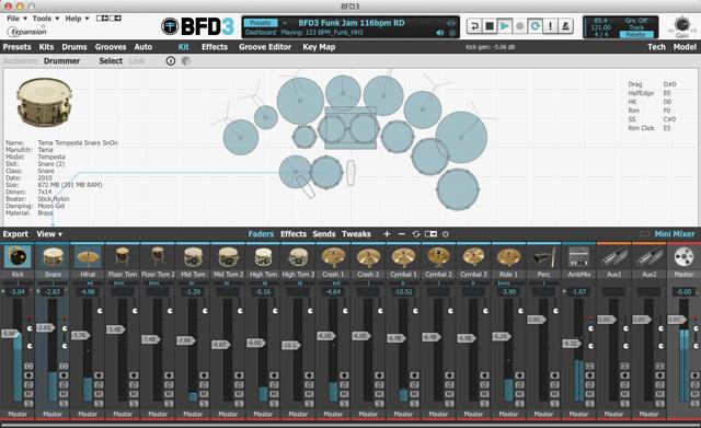 BFD3 da FXpansion
