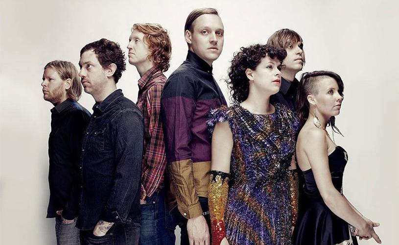 Arcade Fire no Alive