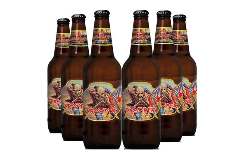Iron Maiden: cerveja Trooper com muita saída.