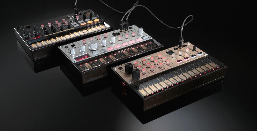 Korg Volca: novos sintetizadores analógicos.