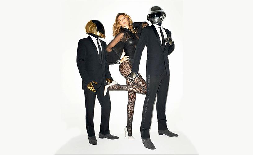 Daft Punk & Gisele Bündchen