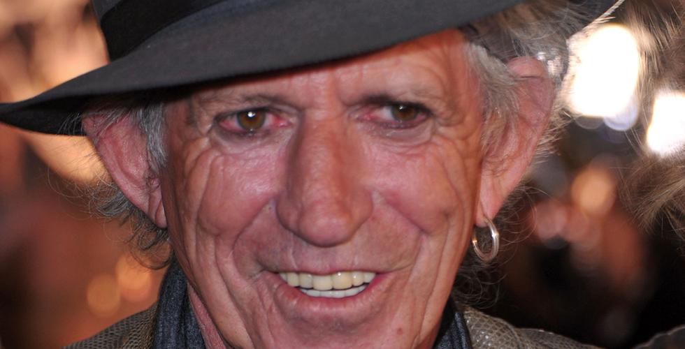 Keith Richards: até aos 100 anos!
