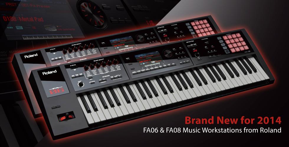 Roland FA-06 & 08