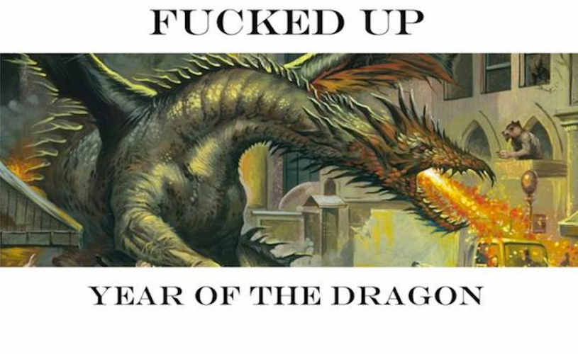 """Fucked Up lançam """"Year of The Dragon"""""""