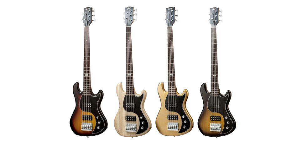 Novo baixo Gibson EB de 5 cordas