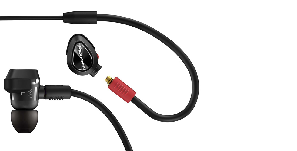 Novos headphones Pioneer