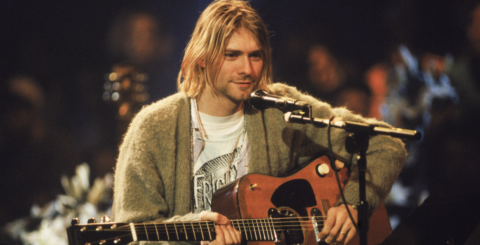 Nirvana, Come As You Are nos Ensaios do MTV Unplugged