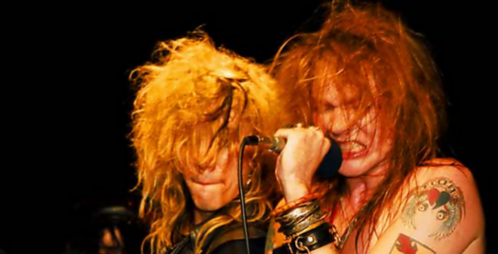 As 5 oitavas de Axl Rose