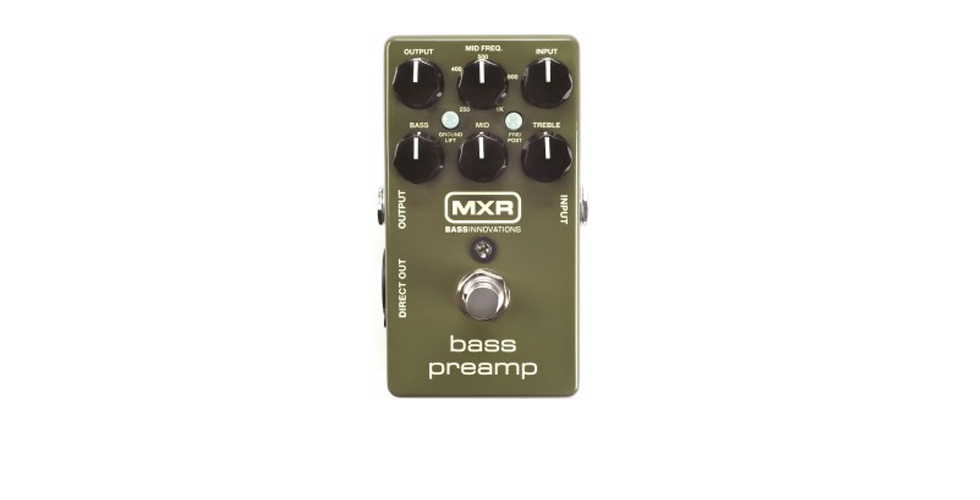 MXR Dunlop Bass Preamp M-81