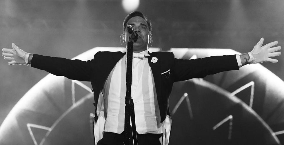 Robbie Williams, o homem que queria ser Sinatra