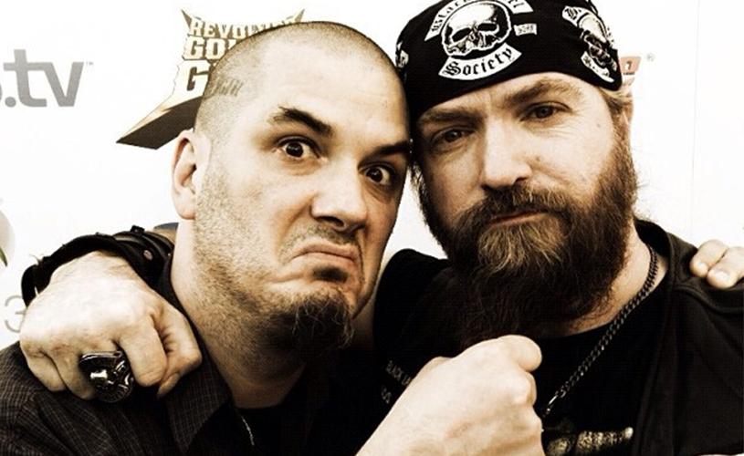 Phil Anselmo e Black Label Society juntos em palco