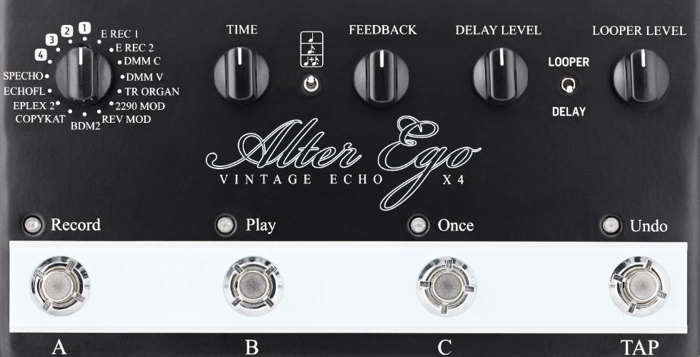 Alter Ego Delay X4 Vintage Echo
