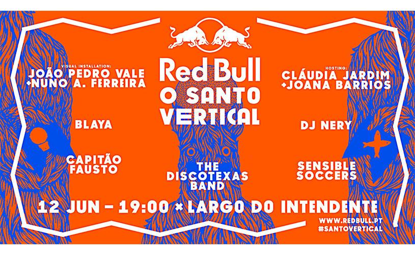 """""""Red Bull o Santo Vertical"""" anima a noite de Santo António"""