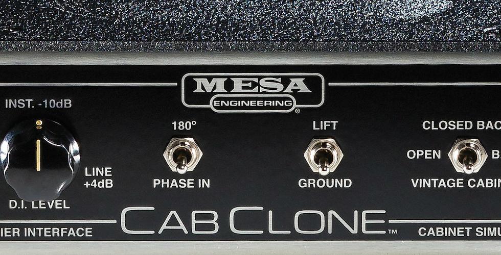 O novo Mesa/Boogie CabClone