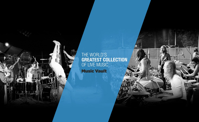 Music Vault oferece gravações remasterizadas de concertos no Youtube