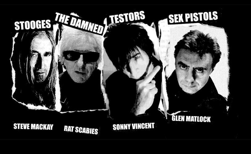 Sex Pistols + The Stooges + The Damned = Sonny Vincent & Spite