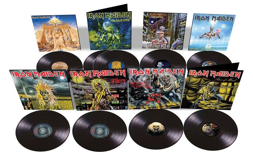 Vêm aí oito reedições em vinil dos clássicos dos Iron Maiden