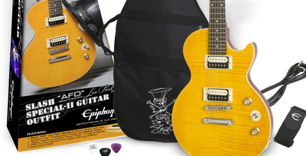 "Epiphone, Slash ""AFD"" Performance Pack & LP Special-II"