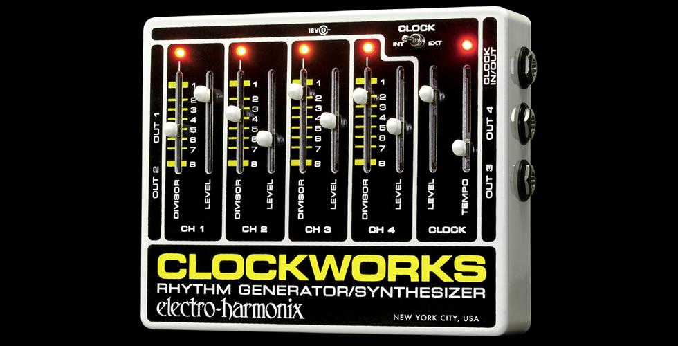 Clockworks da Electro-Harmonix reeditado