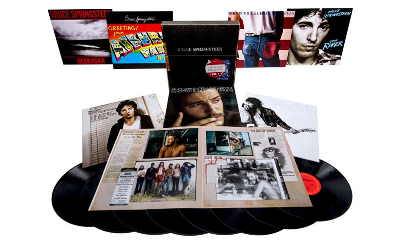 Bruce Springsteen reedita os sete primeiros álbuns