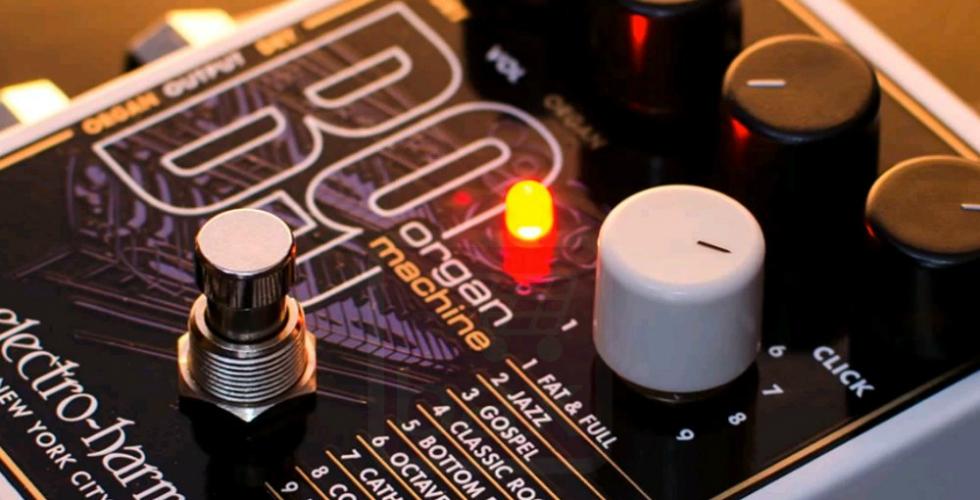 """Electro-Harmonix B9, o """"teclado"""" dos guitarristas"""