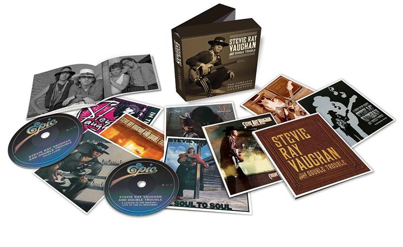60 anos de Stevie Ray Vaughan celebrados em edição com 12 discos