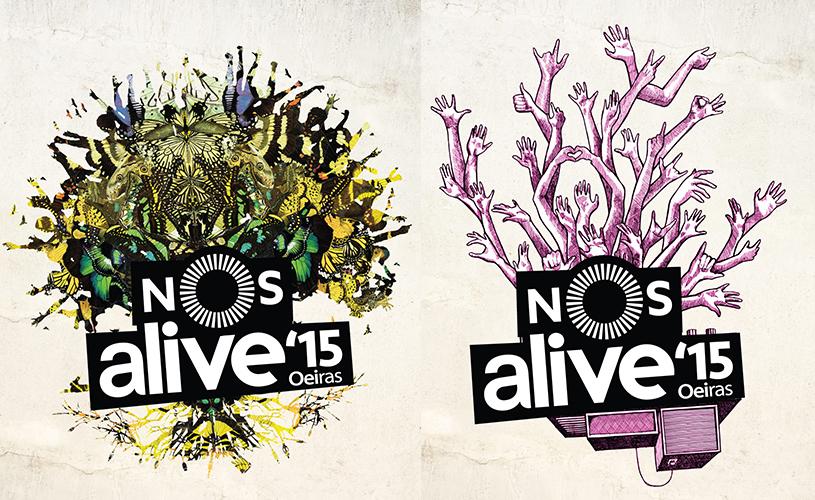As 7 árvores do NOS Alive