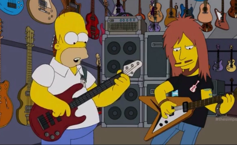 O groove de Homer Simpson