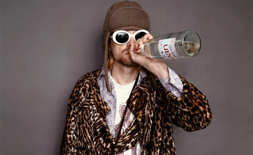 Inédito de Kurt Cobain