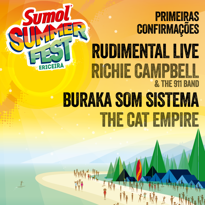 Cartaz Sumol Summer Fest 2015