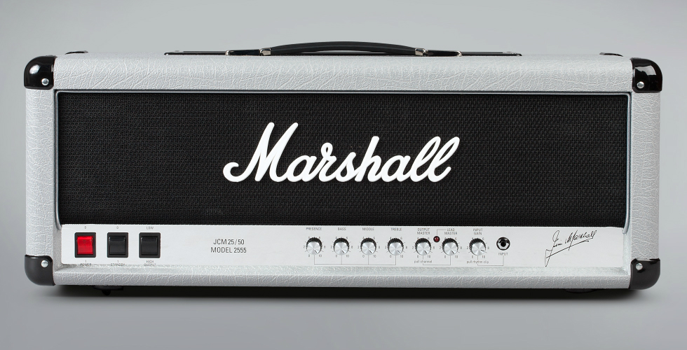 Marshall Silver Jubilee 2555 de volta!