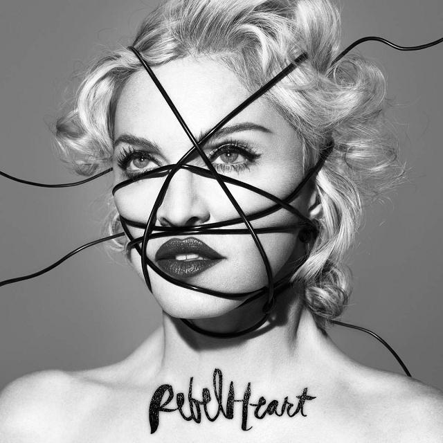 """Capa de """"Rebel Heart""""."""