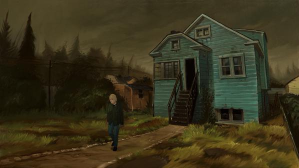 Imagem da animação do documentário revelada por Brett Morgen.