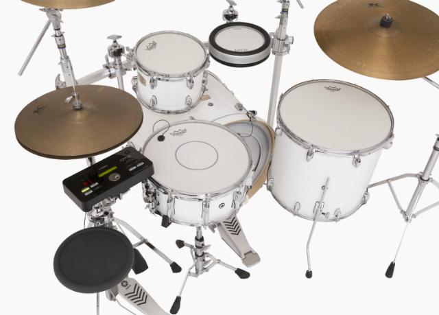 Yamaha DTX502 Hybrid Pack, Stage Custom Birch