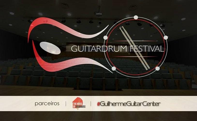 1º GuitarDrum Festival com entrada gratuita
