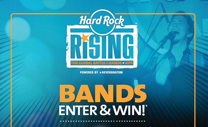 Já podes votar no Hard Rock Rising
