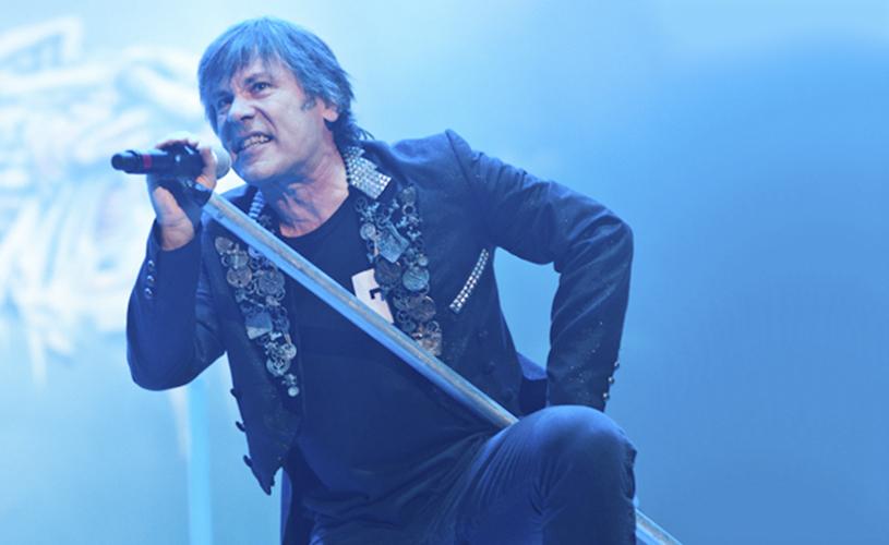 Iron Maiden: Bruce Dickinson inicia tratamento anti-cancerígeno