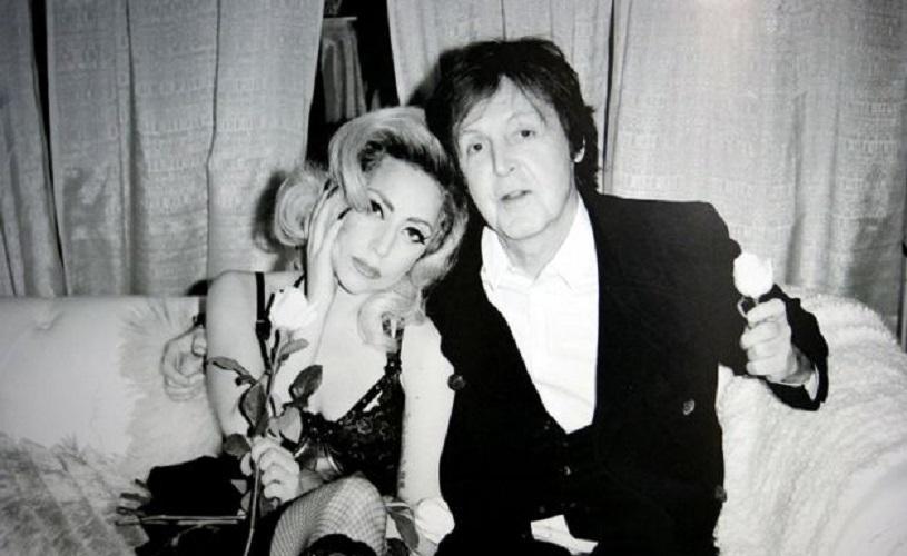Lady Gaga em estúdio com McCartney e… Mike McCready