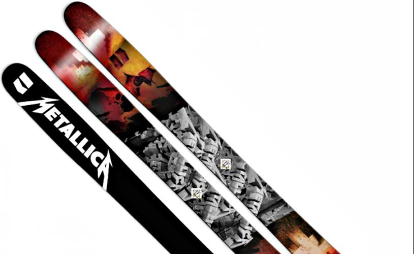 Metallica, Ride The Light… Skis