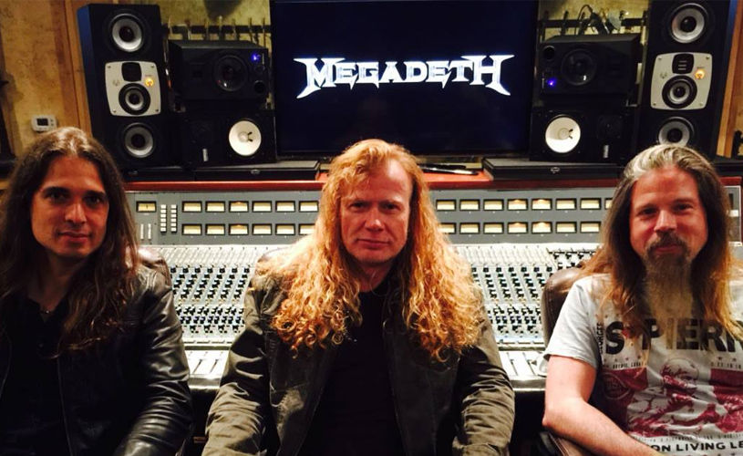 Megadeth: Chris Adler e Kiko Loureiro