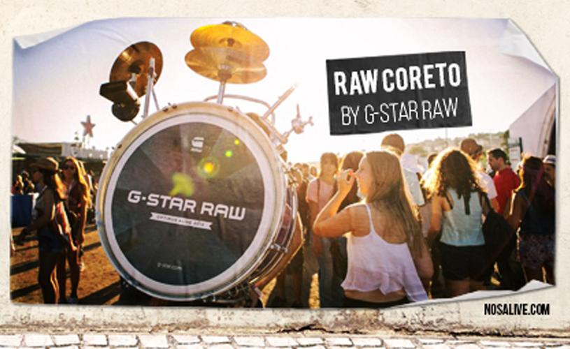 NOS Alive'15: O Palco Raw Coreto já está fechado