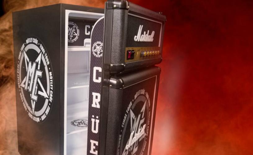 Mötley Crüe Marshall Fridge
