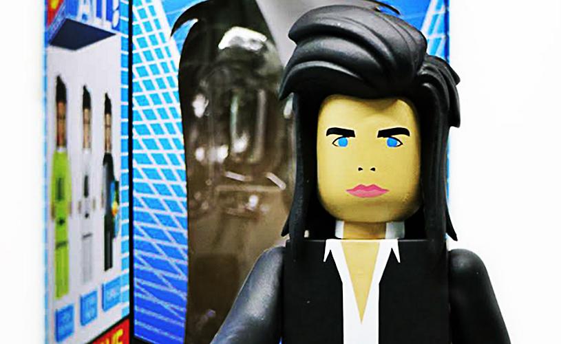 Nick Cave em versão Brinquedo