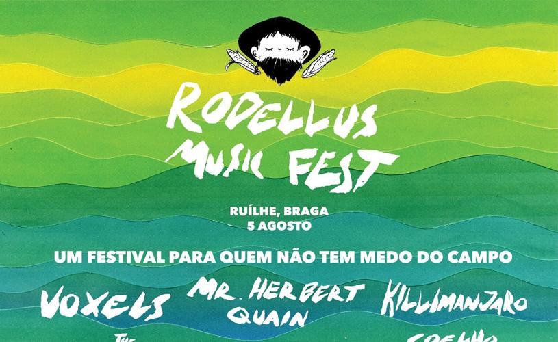 Passatempo Rodellus Music Fest: Temos 5 bilhetes simples para oferecer!