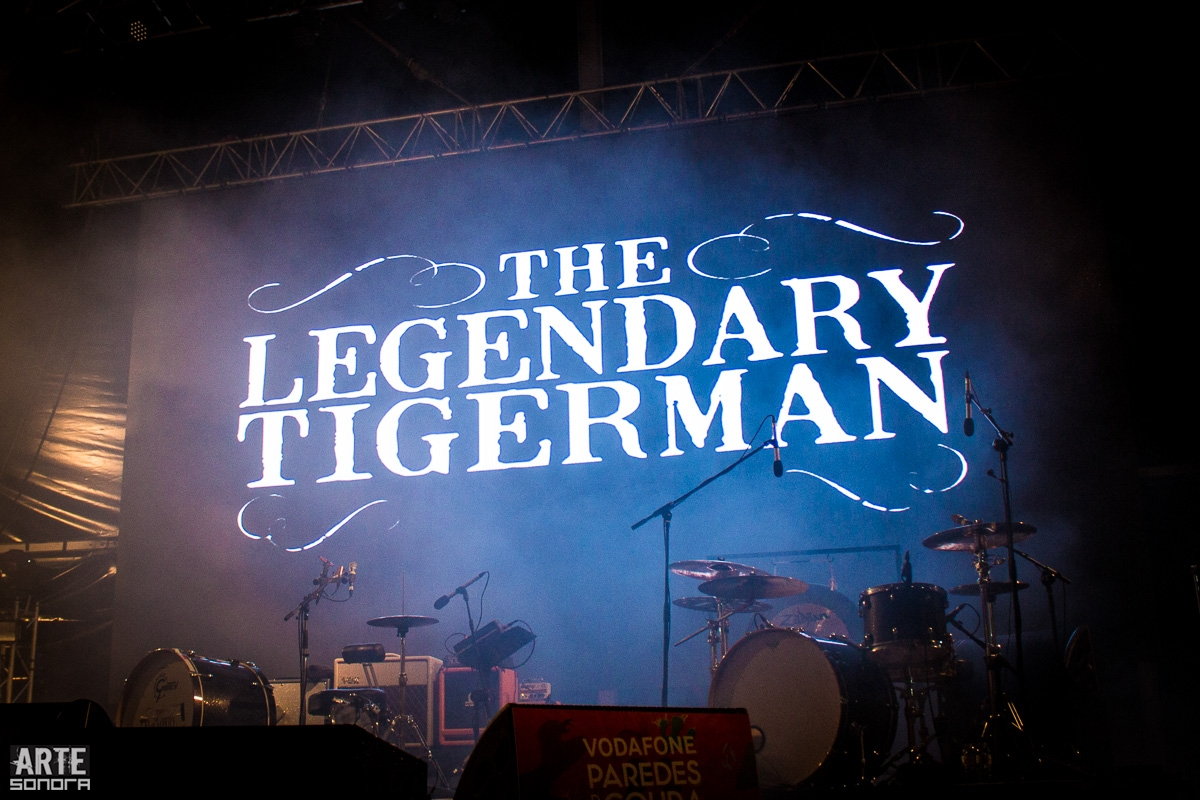 The Legendary Tigerman @ Vodafone Paredes de Coura'15