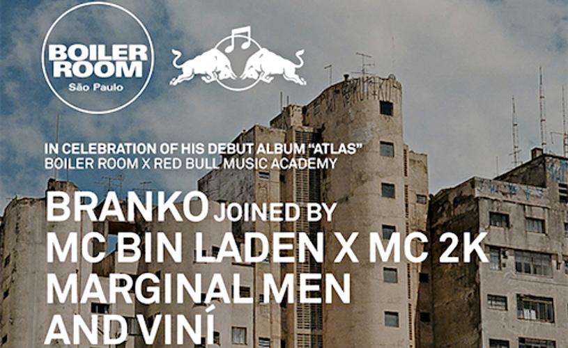 Branko: Boiler Room desde São Paulo