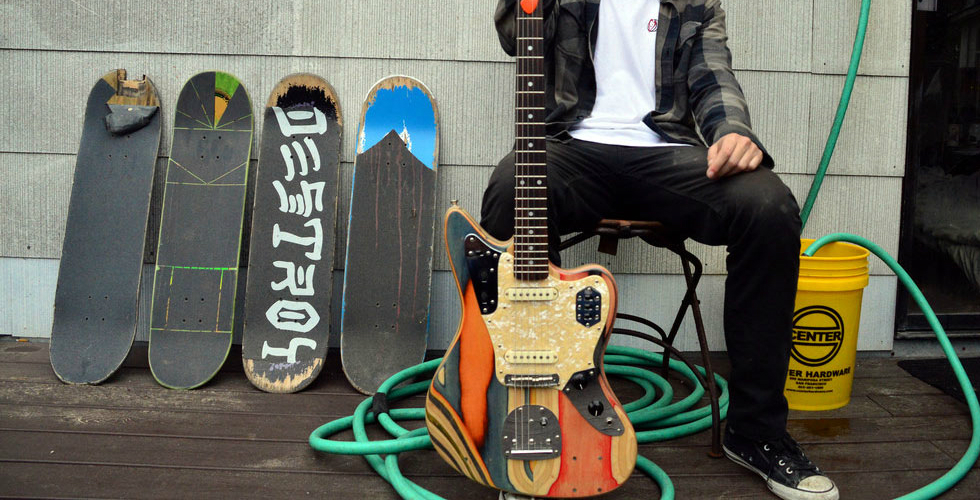 Skateboards & Guitarras